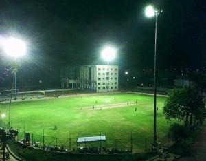 TKR College Ground under lights