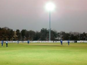 Vardhaman Cricket Ground under Lights
