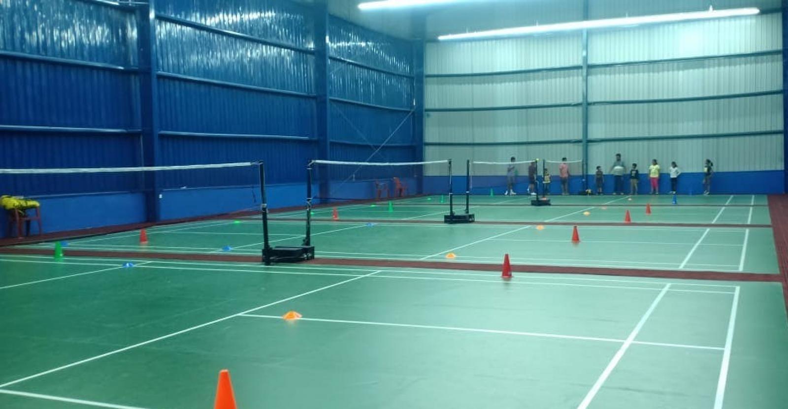 Rio Badminton Arena - GW Sports App